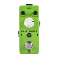 bass limiter - AROMA ABL Mini Bass Limiter Electric Bass Guitar Effect Pedal Aluminum Alloy Body True Bypass Guitar Parts Accessories