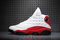 Wholesale Drop Shipping Air Retro Chicago White Red Black Cat Men Basketball Shoes ships out within days