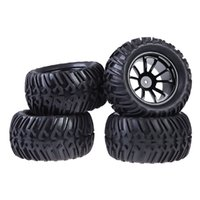 Wholesale New Plastic Wheel Rim and Rubber Tires For HSP Monster Truck RC Car mm Hub