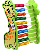 Wholesale 2016 small deer wooden Abacus frame Early Childhood Education pupil teching tools