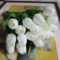 beautiful tulips - 2017 Bouquet De Mariage Tulip Colors Vintage Artificial Flowers Beautiful Mini Bouquets for Bridal Wedding Bouquet