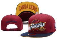 Wholesale 24 style james Snapback Caps Adjustable cleveland Basketball Hats Fashion Hip Hop Snapbacks High Quality Women Men Sports