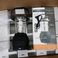 Wholesale Hand lantern camping lights LED solar lights outdoor