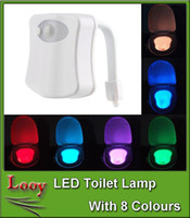 auto lamp sensor - Led Motion Sensor Toilet Night Light Colors Changing Home Toilet Bathroom Human Body Auto Motion Activated Sensor Seat Light Night Lamp