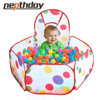 Wholesale Children s Favor Play Tent Have Fun Sports Lawn Tent Kids Play Game House Tent Ocean Ball Pool Baby Education Toys