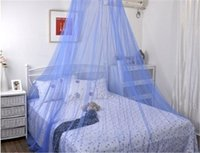 Wholesale Princess bed nets Big dome mosquito nets Production of court circle account Condole top circle account Double dome mosquito nets