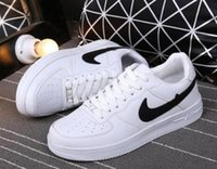 air ocean - Hot New Top Quality Men and Women upgraded version New All White Shoes and black with Air drill size run shoes