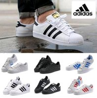 Wholesale 2016 New Family Matching Originals Superstar S shoes New Low Fashion Sneaker Men s Women s comfortable sneakers shoes free sping