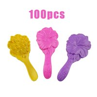 Wholesale Little Multicolor Plastic Combs For Barbie Doll Colors DOLL Accessories Girl Toys Kids toys Accessories