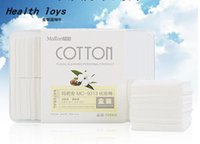 Wholesale sheet deep Facial cleansing makeup remover Cotton Cosmetic make up remover Pads Beauty Accessories