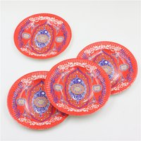 arabic party theme - Inch Islam Arabic Month Theme Party Paper Plates Children Boy Girl Birthday Festival Ramadan Party Plates Supplies10pcs