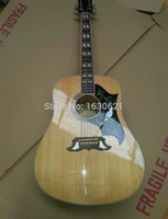 Wholesale New Factory Chibson DOVE acoustic guitar inch DOVE acoustic electric guitar Sapele body Quality spruce top dove