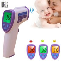 Wholesale Digital Baby Thermometre Multi Function Non contact Infrared Body Thermometer Gun Forehead Termometro Adulto Diagnostic tool