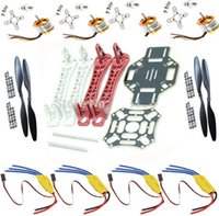 Wholesale RC Drone Quadcopter Flamewheel kit axis FPV Motor ESC propellersDJI F450 Multicopter
