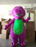 barney picture - Ohlees actual picture Barney Mascot Costume Halloween Christmas Birthday Props Costumes For Adult Kids cartoon animal mascot customize toys