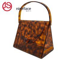 Jolie visage populaire Vente directe en usine acrylique jolie charmante sac de soirée sac à main giels épaule sacs à provisions embrayage