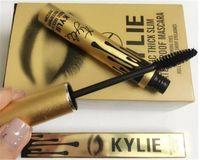 Wholesale Kylie Jenner Mascara Magic thick slim waterproof mascara Black Eye Mascara Long Charming eyes Cosmetic Gold Birthday Package