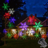 auto tree - Yaomeng LED Snowflake Effect Lights Outdoor Christmas Light Projector Garden Outside Holiday Xmas Tree Decoration Landscape Lighting