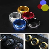 air conditioning specials - Subaru Interior Accessories Decorative ring set for forest XV Air Conditioning Knob Triming Special Metal Ring colors