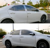 Wholesale Fit TOYOTA Corolla ABS Chrome Can Body Side Molding Trims