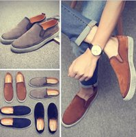 Wholesale Fashion wild college wind Large Men s shoes Big Size Casual leather shoes