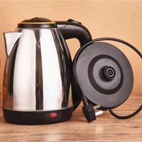 Wholesale 2L stainless stell Cordless Kettle Concealed heating element Boil dry protecion degree rotating base Boiler