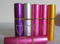 Wholesale New Self Defense Device Lipstick StyleTear agent pepper spray ML Pink colors