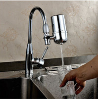 Wholesale Kitchen Faucets Filter Remove Water Contaminants Alkaline Water Ionizer Household Water Filter Purifier Machines Washable Ceramic Filter