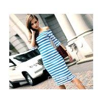 bag caps - The new arrival the hot blast stylish striped dress bag hip dress black red blue size s m l xl xxl xxxl