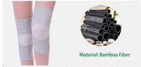 Wholesale New Bamboo Fiber Knee Massage Brace Elastic Breathable Knee Support Health Care Knee Pads Leg portion Health Care