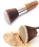 Wholesale 1pc Professional Makeup Brush With Big Flat Top for Liquid Cream Mineral Powder Foundation Face Cosmetics Best Quality Design