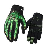 Wholesale Motorcycle Gloves mtb Bike Gloves Ciclismo Racing Sport Ciclismo Outdoor Breathable Gloves Thick Shockproof Gants Moto Verano