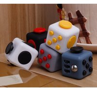 Wholesale 11 color New Fidget cube the world s first American decompression anxiety Toys DHL