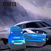 Wholesale Brake Accelerator DIY Alloy Nonslip Safety Pedal Pad for Automatic AT Car