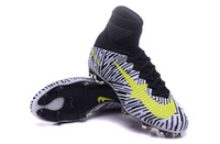 new model shoes - New original Explosion models Mercurial Superfly FG Soccer Shoes FG Soccer Cleats High Ankle Football Boots Soccer Boots