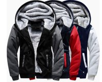 Men advertise cardigans - 200pcs Factory processing latest style sweater hoodie coat thickening sweater custom pattern custom advertising size s xl