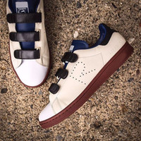Wholesale 2017 new arrival mens and womens raf simons x stan fashion smith causal shoes with R Logo