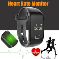 Acheter Enfants podomètre bracelet-Promition K18S Bracelet à fréquence cardiaque Bluetooth 4.0 IP65 Waterproof Pedometer Calorie Sport Wristband Sleep Monitor Call / SMS Reminder