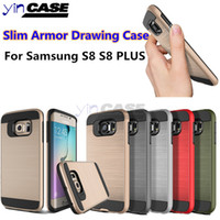 Wholesale Drawing Case For Samsung A5 s8 Hybrid Armor Case For Galaxy s8 plus A520 A320 A7 j5 prime J3 prime j7 prime Hard Shell Back Cover