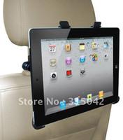 Venta al por mayor para el sostenedor del iPad 2, montaje del apoyo para la cabeza del coche para el iPad 2, embalaje del bolso de los PP sin la caja de color, envío libre