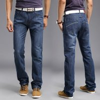 Wholesale 2016Fashion Mankind Jeans Straight jeans Factory direct sales of men s jeans China Quality