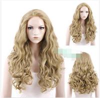 achat en gros de cendres dentelle perruque blonde-Livraison gratuite! Nouveau Belle Mode nouvelle 28