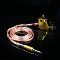 Wholesale Recommend Top Quality RCA Tattoo Clip Bold Rubber Silicone Cord For Tattoo Power Supply Tattoo Machine