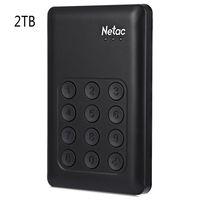 aes usb - Original Netac K390 GB TB TB SSD USB External Hard Drive Hardware Encryption with Independent Keypad Lock AES bit