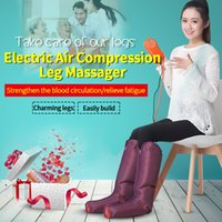 Wholesale JinKaiRui Electric Circulation Leg Wraps Healthcare Air Compression Massager Foot Ankles Calf Therapy Slimming Relaxation Massj Gifts