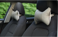 Wholesale 2PC Head pillow Warm Car headrest auto supplies neck Warm winter car bone care cervical Car seat For Nissan