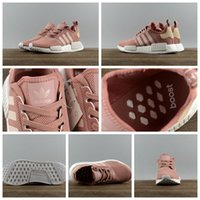 Adidas NMD XR_1 PK Boost Gray Pink Salmon Women 6 8.5