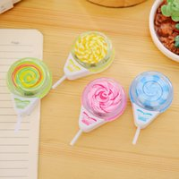 Wholesale x kawaii Lollipop pencil sharpener pencil cutter knife korean stationery school supplies papelaria