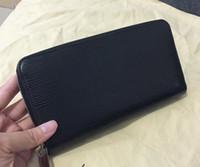 Wallets best mens designer wallets - Hot Many styles Zippy Wallet Damier Ebene Noir Black Epi Real Leather mens wallets card holder designer best N60015 ladies women Purse