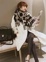 Wholesale 2016 hot autumn and winter cashmere scarf new style leopard tassel warm fashion shawl brief DK130